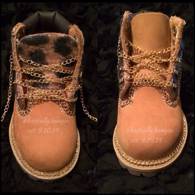 The chain reaction timberland [big kids sizes 3.5-6]