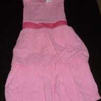 Pink Sleeveless Dress-She's The One Size 6X