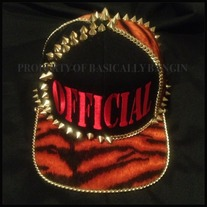 "BLACK&RED TIGER""OFFICIAL"" SNAPBACK"