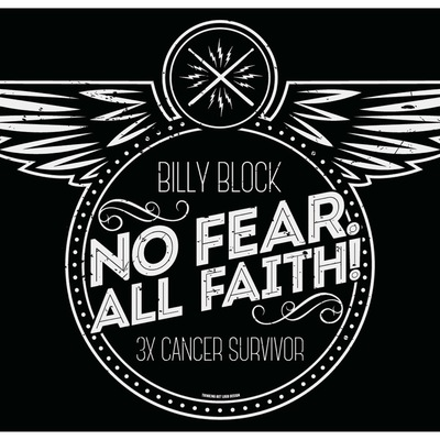 No fear! all faith! t-shirt
