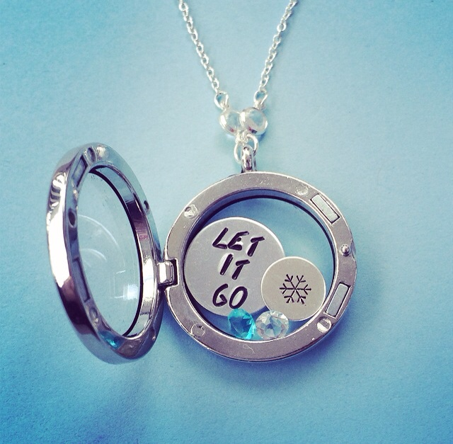 Frozen Inspired Necklace Inspired Locket Necklace