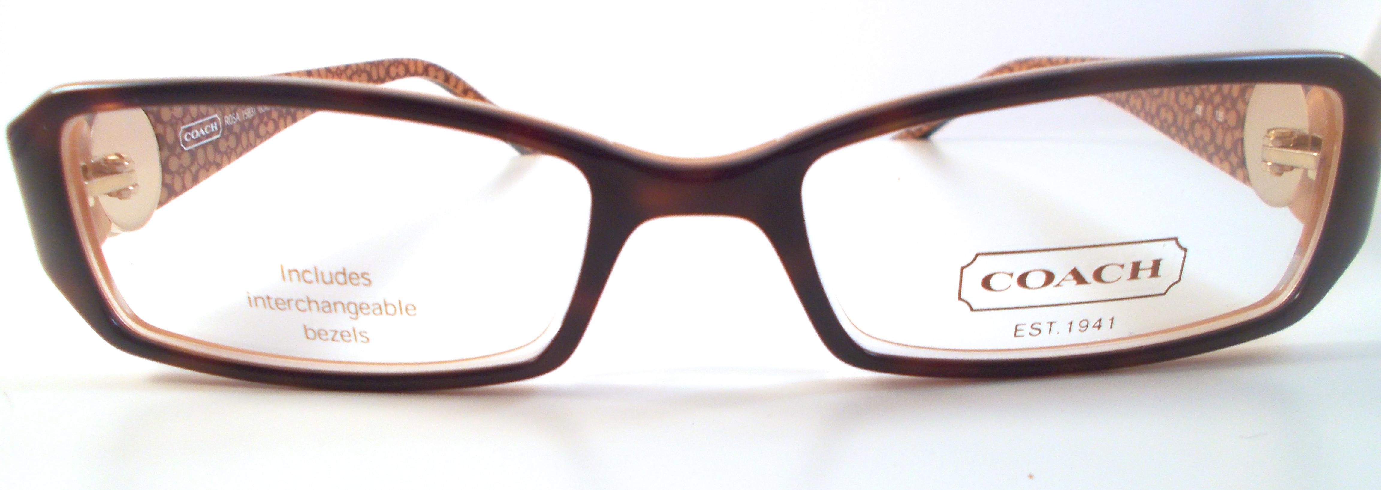H&S Optical Coach Eyewear Rosa (583) Online Store ...