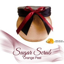 Orange Peel Sugar Scrub