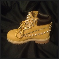 ALL SPIKED TIMBERLANDS (YOUTH SIZES 12.5-3)