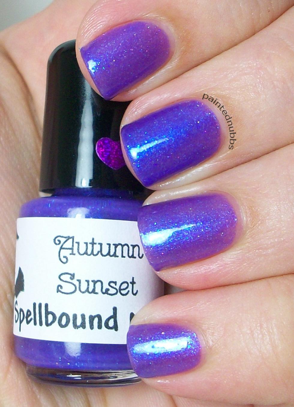 Autumn Sunset - Fall 2014 Collection Custom Glitter Nail Polish ...