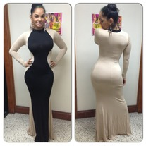 Curvy dress PLUS
