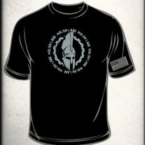 MLCCW Spartan Shirt 4XL (Black)
