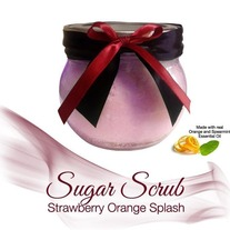 Strawberry Orange Splash Sugar Scrub