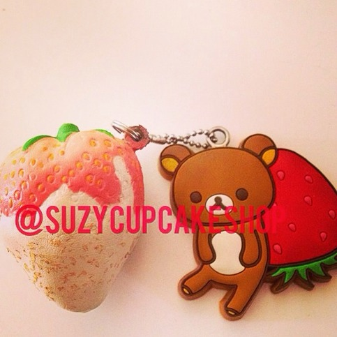 Rk Squishy Rare : Super rare rk tag strawberry ? SuzyCupcake ? Online Store Powered by Storenvy