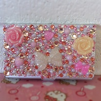 Made-To-Order Genuine Swarovski Crystal Decoden Card Case
