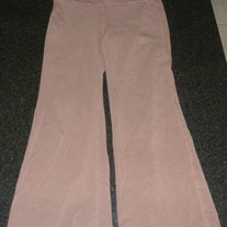 Brown Cotton Gauchos-Gap Kids Size 6-7