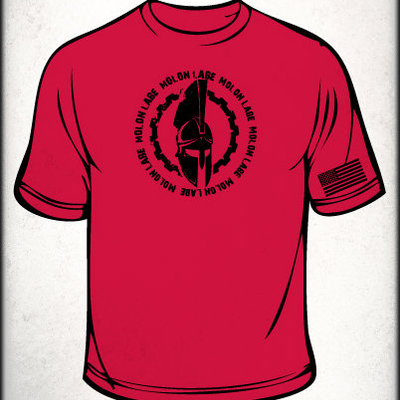 Mlccw spartan shirt (red)