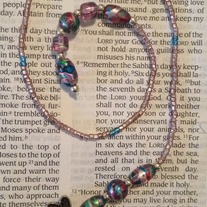Dragonfly Beaded Bookmark