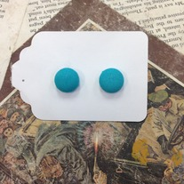 Button Earrings *Available in other colors