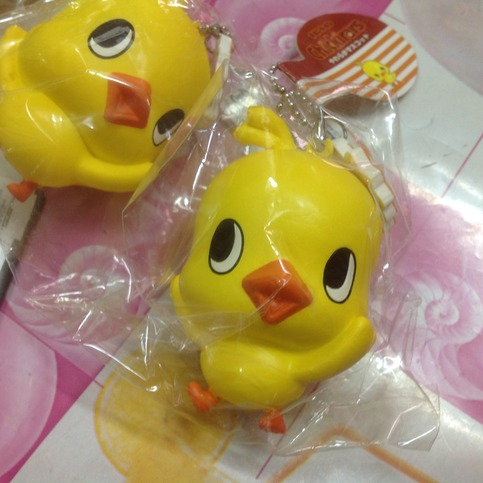 Squishy Collection Small : ~SquishyStuff~ Licensed Chicken Big Squishy Mascot with small tag Online Store Powered by ...