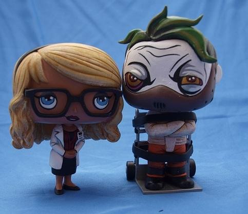 Custom Funko Pop Harleen Quinzel And Joker Set On Storenvy