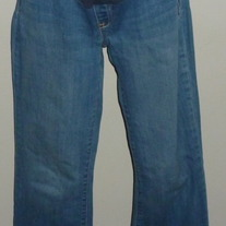 Denim Jeans-Old Navy Maternity Full Panel Size 8 Long  CLSR