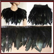 Color Feather Boa DIY Wrap Cape Shawl Poncho Skirt