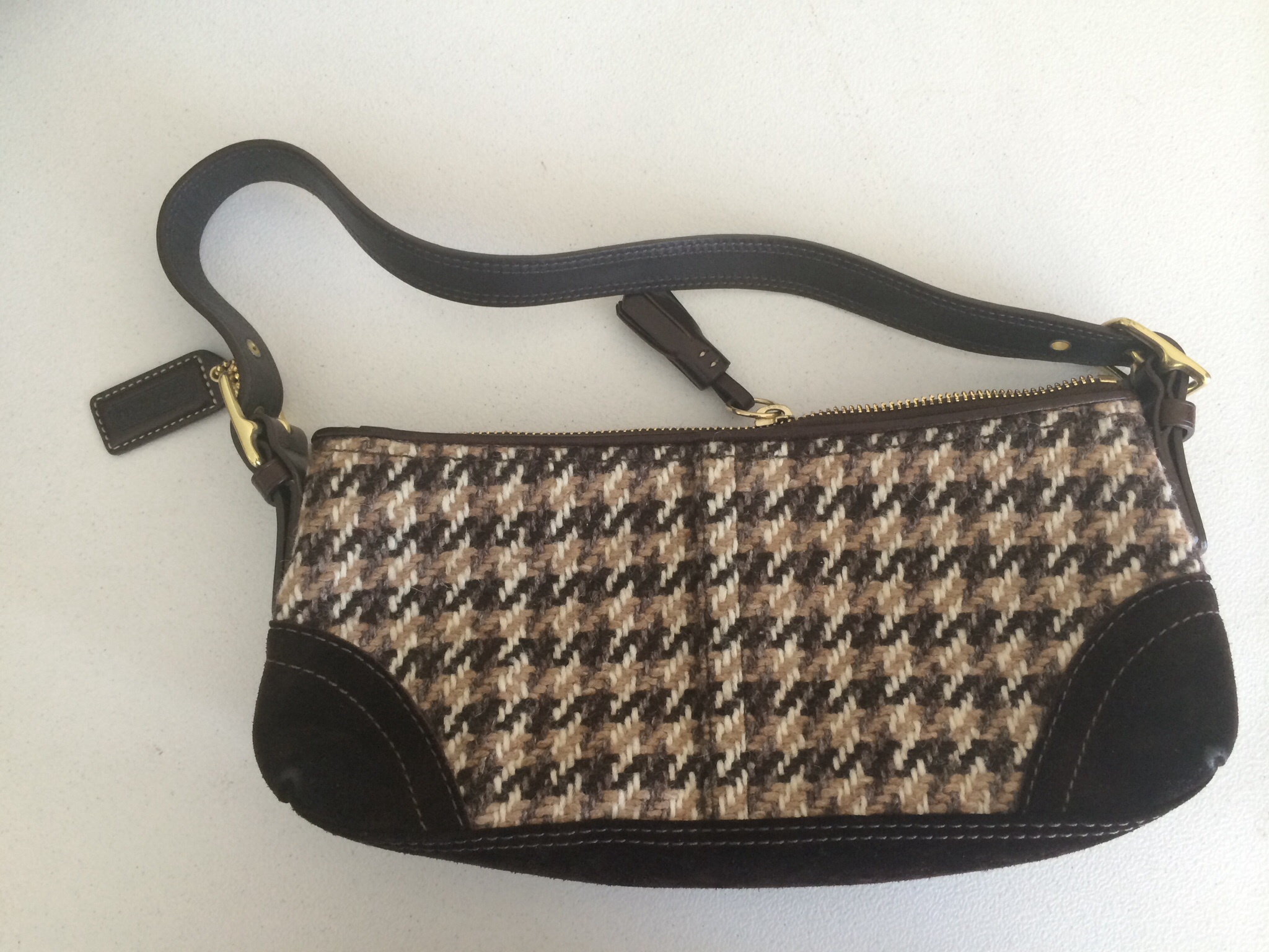 9f30db748 Coach Tweed Bag · Wooden Hanger Consignment · Online Store Powered ...