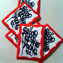 BOTY drippy label patch