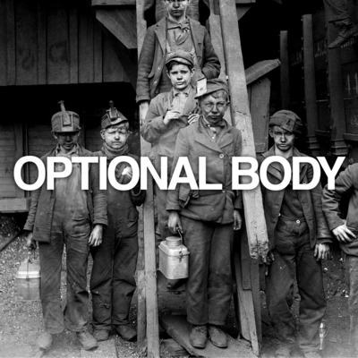 "Optional body - 2 song 7"" (limited black vinyl)"