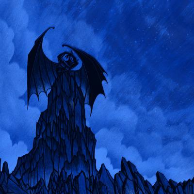 Night on bald mountain - blue