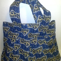 St. Louis Rams Cotton Print Handbag