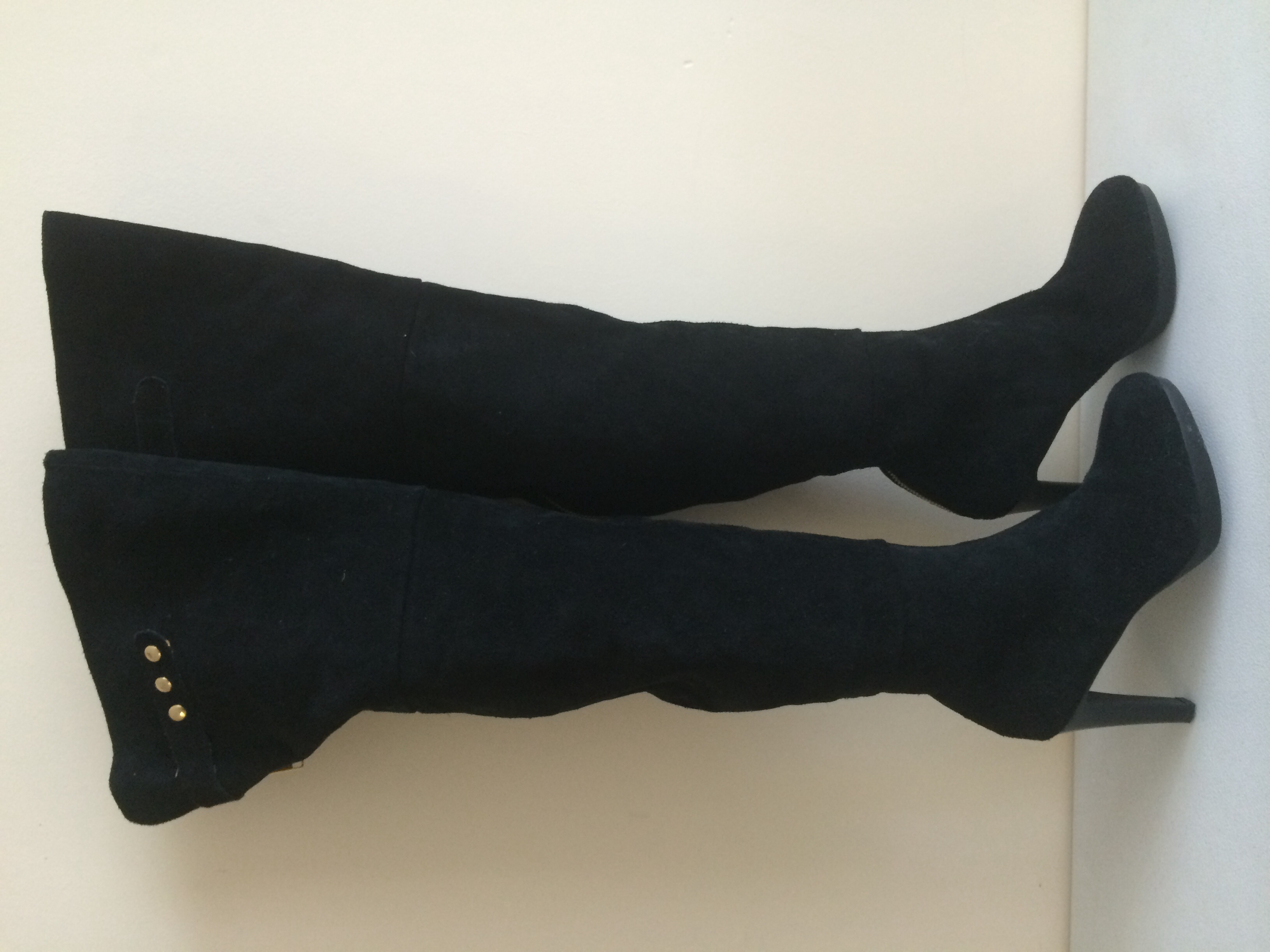 b172902e6 Size 6 Kelsi Girl Over Knee Boots · Wooden Hanger Consignment ...