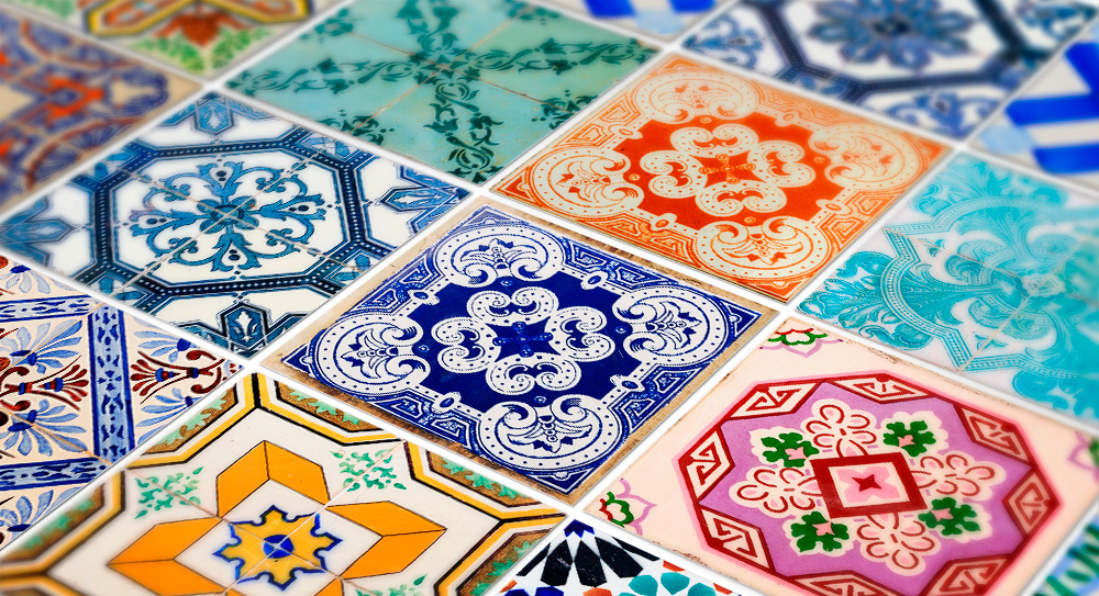 Tiles Cover Sticker for Kitchen Traditional Spanish Pack 48 on