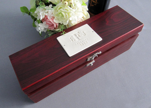 Personalized Wedding GiftWine Box With Tools on Storenvy