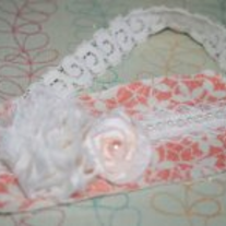 Peaches N' Cream Bebe headband