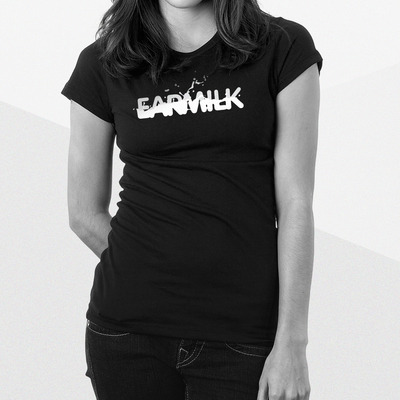Earmilk splash logo tee [women]