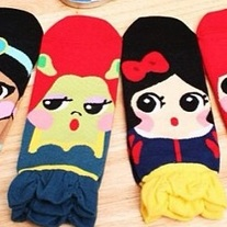 Princess Character Socks