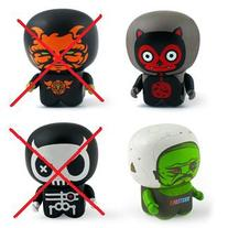 Unipo Series 4 (Halloween) Mini-figures by UNKL