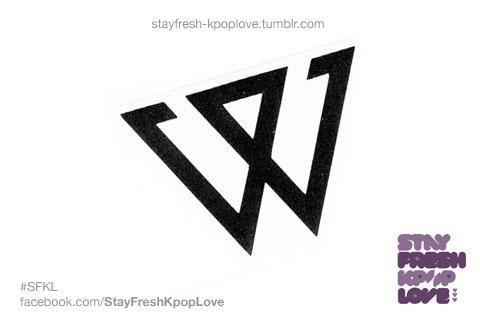Winner w kpop decal sticker