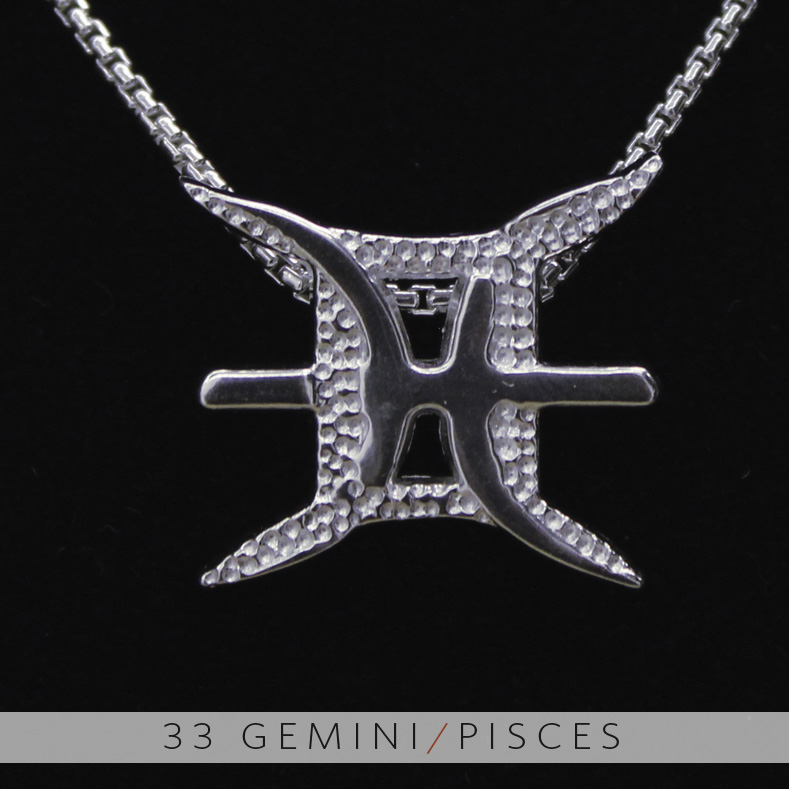 unity design concepts the gemini and pisces silver unity