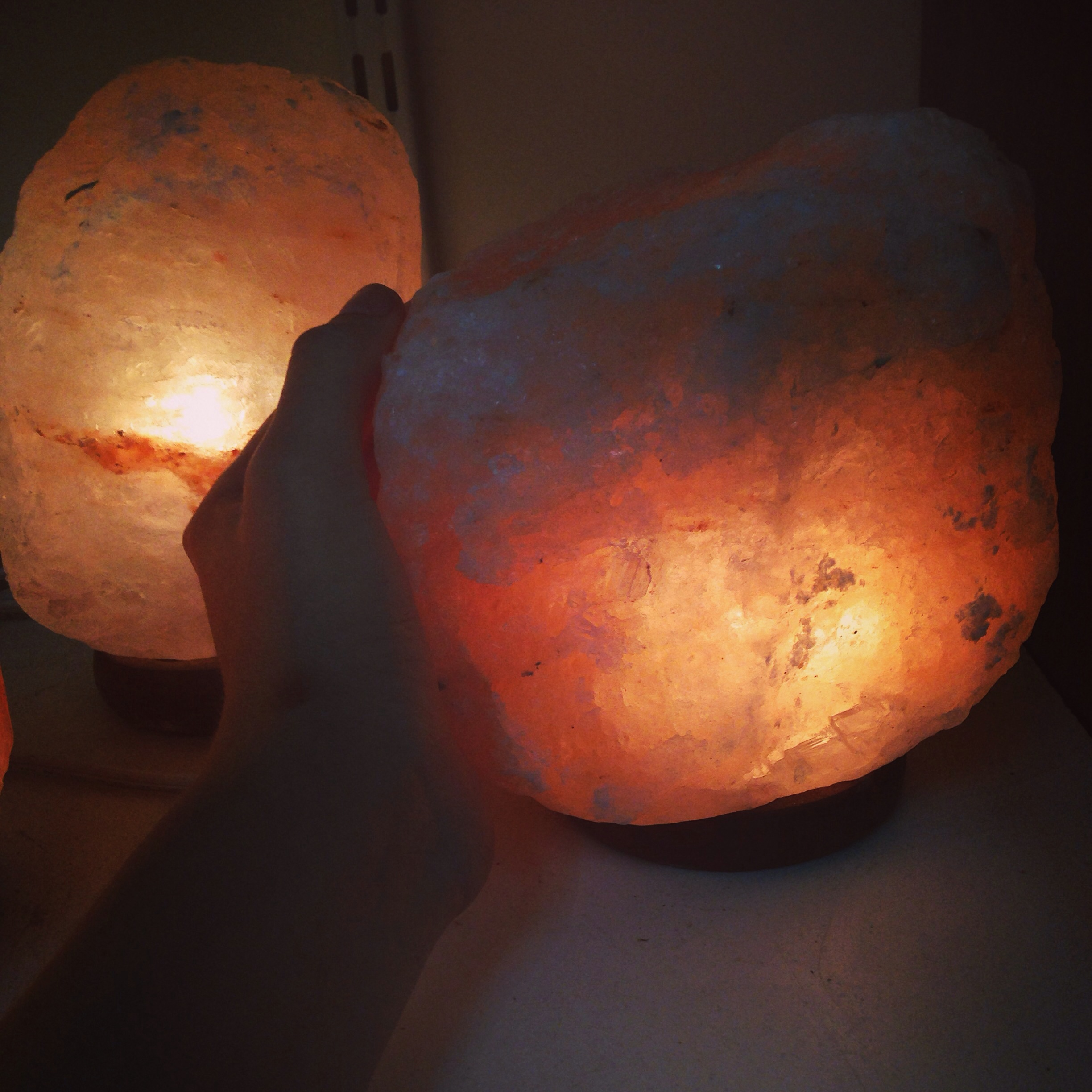 Large salt rock lamp on storenvy for Large salt rock lamp