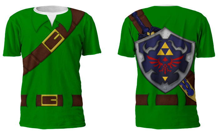 Link Costume Tunic Mens T Shirt XS-3XL · Much Needed Merch ...