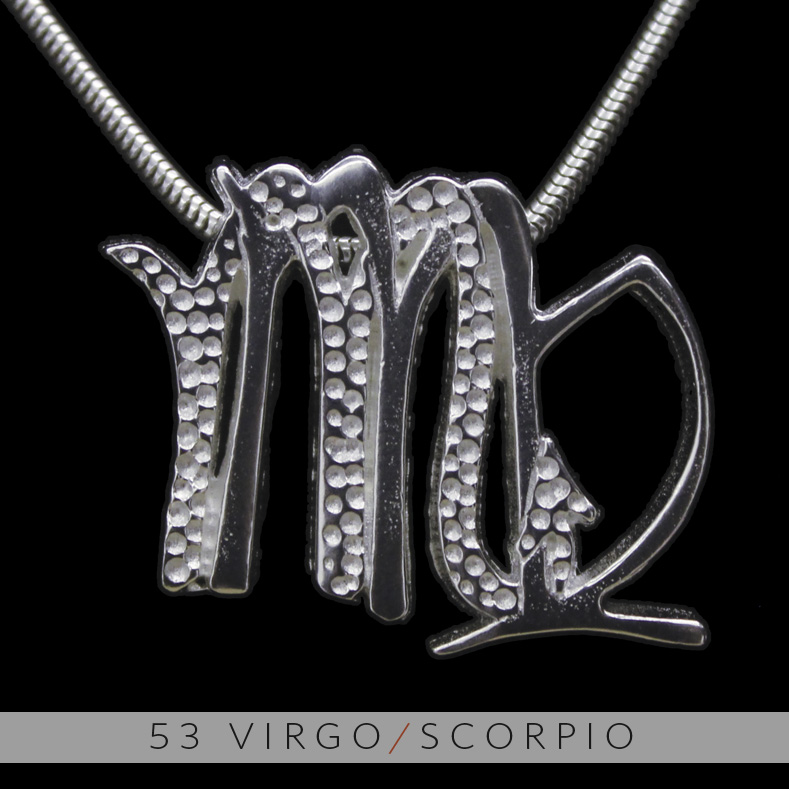 Unity design concepts the virgo and scorpio silver unity pendant the virgo and scorpio silver unity pendant mozeypictures Images