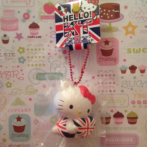 Hello kitty Union Jack squishy ? SuzyCupcake ? Online Store Powered by Storenvy
