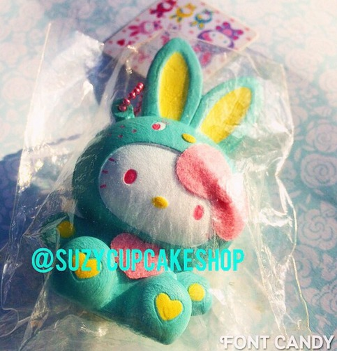 Squishy Bunny Instagram : SUPER rare aqua Hk bunny ? SuzyCupcake ? Online Store Powered by Storenvy