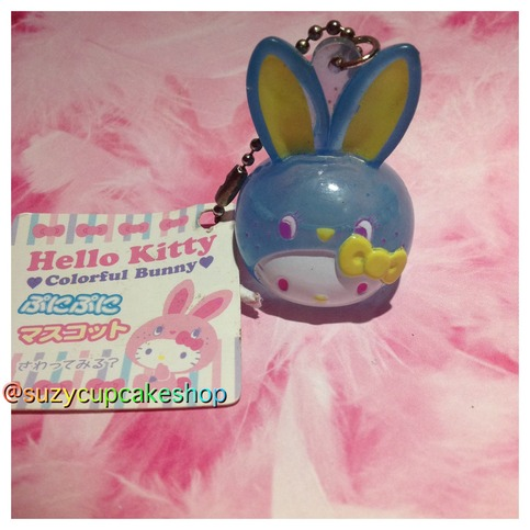 Squishy Bunny Instagram : Super rare blue hello kitty bunny head hard water squishy ? SuzyCupcake ? Online Store Powered ...