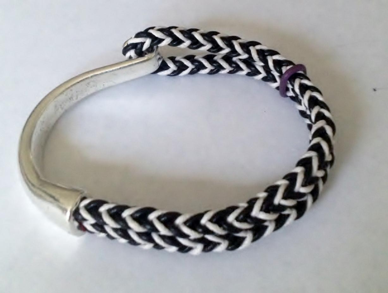 Kumihimo Leather Square Braid Bracelet Kit Ancient Moon Beads