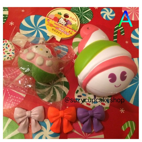 Rare Fish Squishy : Rare and cheap holiday squishy grabbags ? SuzyCupcake ? Online Store Powered by Storenvy