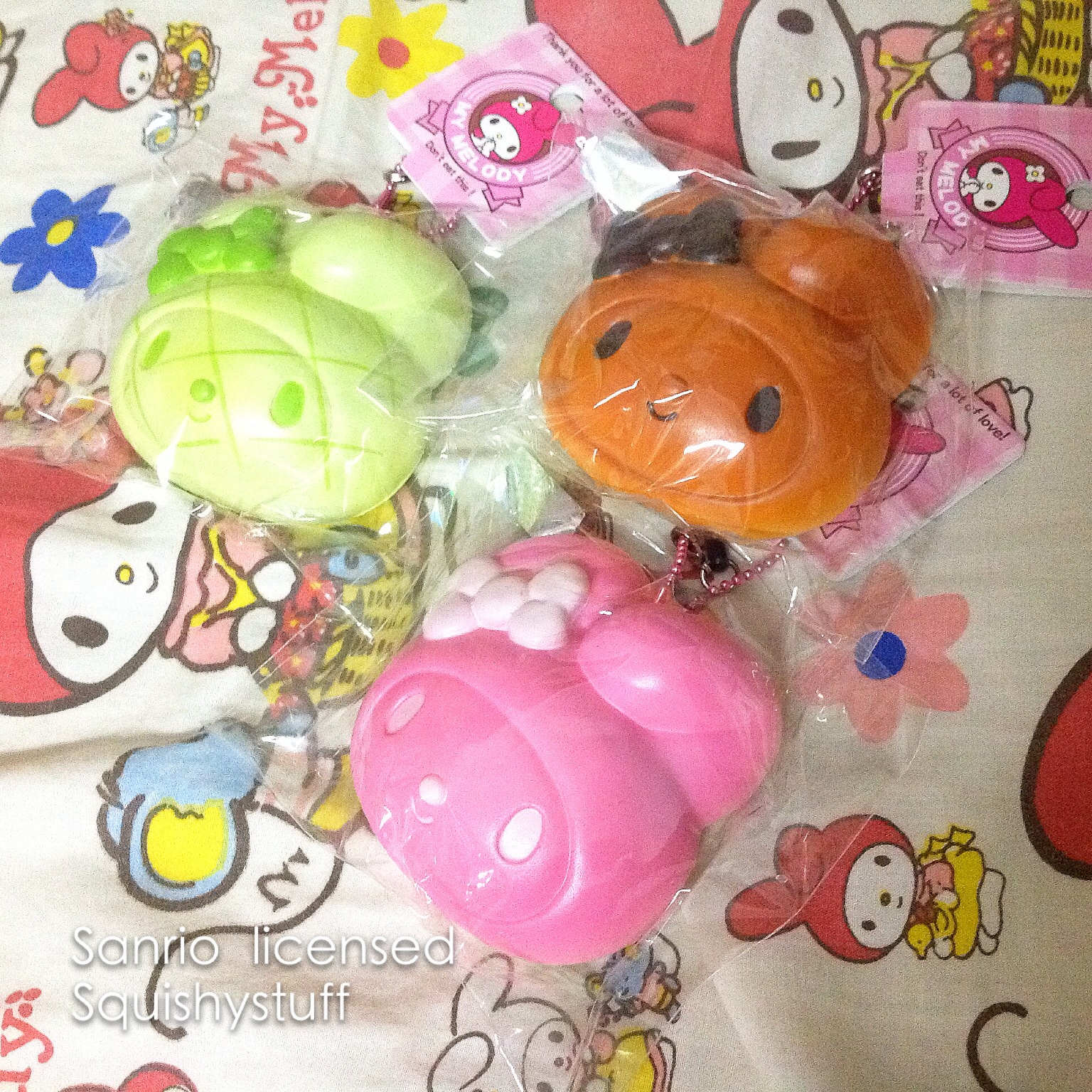 Squishy Collection Naura : ~SquishyStuff~ Sanrio Licensed My Melody Bun Squishy Online Store Powered by Storenvy