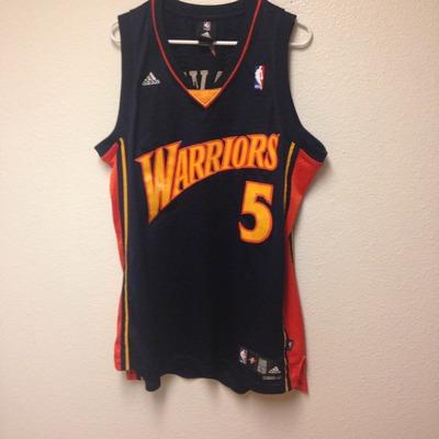 ebee80876 Golden State Warriors Baron Davis Authentic Adidas Jersey Large ...