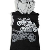 Appaman Race Bikes Hooded Tank, Black