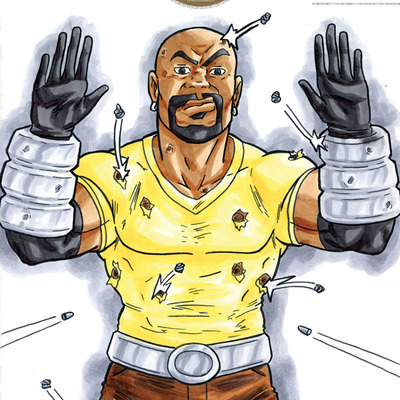 Luke cage hands up don't shoot print