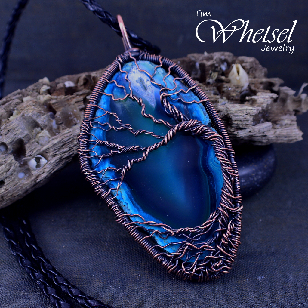 Resin Faux Crystal Wire Wrapped Pendant Necklace Diy: Tree Of Life Wire Wrapped Necklace