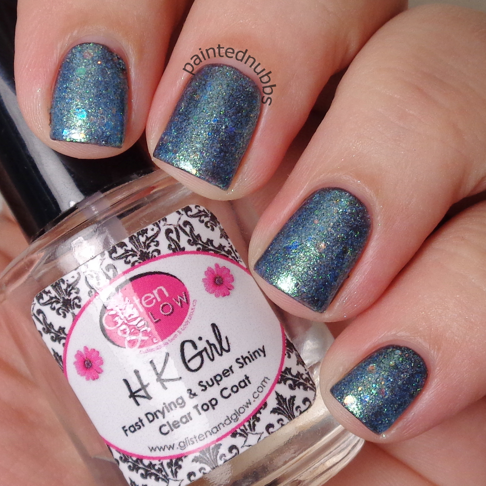 Snow Dusted Pines - Custom Winter Interference Iridescent Glitter ...